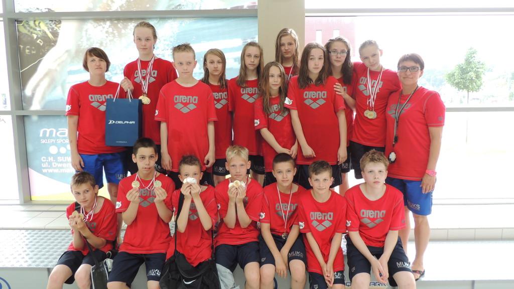 Pływackie Mistrzostwa Polski Młodzików 12 letnich